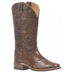 BOULET'S Ladies Wide square toe boot 1062