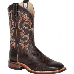 "Cordova Brown/Barcelona Brown 11"" 8556 Canada West Men's BRAHMA EZ-Flex Ropers"