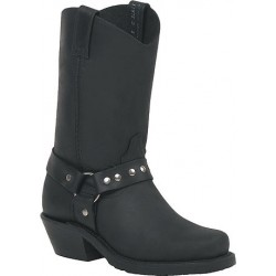 "Black Loggertan 11"" 7629 Ladies Canada West Bikers"
