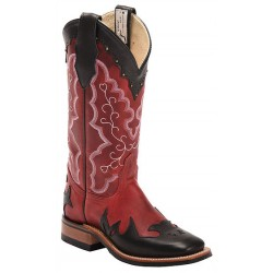 "Volcano Roso / Black Manchester 13"" Canada West 4097 Ladies BRAHMA Ropers."