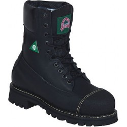 "Black Loggertan 8"" Insulated 6204 Ladies Canada West Work Boots"