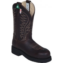 "Bark Stormy 11"" 6205 Ladies Canada West Steel-Toe Work Boots"