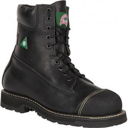 Canada West 34411 Steel-Toe Lace Work Boots CSA Grade 1