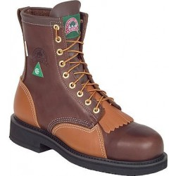 Canada West 50181 Steel-Toe Walnut Loggertan Lace Work Boots CSA Grade 1