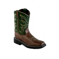 OLD WEST WB1001Y Youth Square Toe