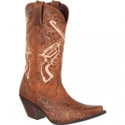 Crush by Durango DRD0099 Women's Crossed Guns Western Boot