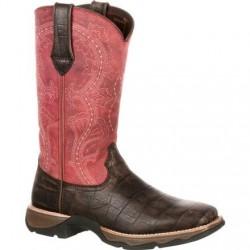 Lady Rebel DRD0147 by Durango Women's Gator Embossed Western Boot