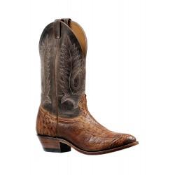 Boulet's 4 Piece Smooth Ostrich Maddog Ranger medium cowboy toe boot 6553