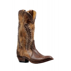 Boulet Shoulder Taurus Noce medium cowboy toe boot 6289