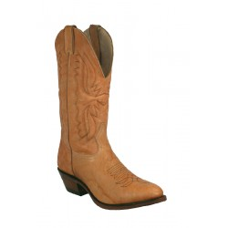 Boulet Mens Deerlite Butterscotch Medium cowboy toe boot 1809