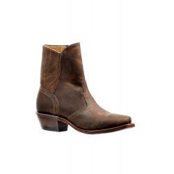 "Boulet Ladies 7"" HillBilly Golden Medium Cowboy toe boot 6357"