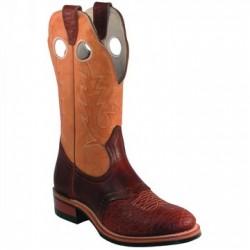 """BOULET 12"""" Ladies Bullhide Cognac Deerlite Butterscotch Full round toe Boots 3131"""