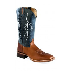 OLD WEST -Mens Broad Square Toe Boot BSM1865