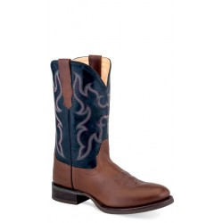 OLD WEST - Mens Broad Round Toe Boot 5701