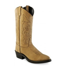OLD WEST - Men's Narrow Round Toe Work Boot TBM3011