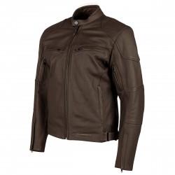 Joe Rocket Mens RASP Leather Jacket Brown
