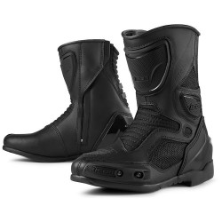 Icon Womens Overlord Boots Stealth Black