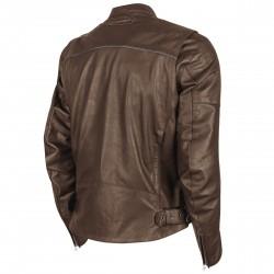 Joe Rocket Mens POWERGLIDE Leather Jacket Brown