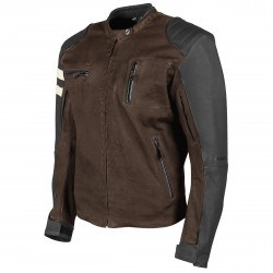 Joe Rocket Mens Rocket 67 Leather / Textile Jacket Brown