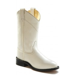 Old West SRL4021 Womens White Roper Boots