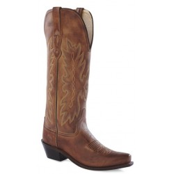 """Old West TS1541 14"""" Womens Tan Canyon Fashion Wear Boots"""