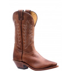"Boulet 11"" Ladies BISON Vintage Rust Snip toe boot 7611"
