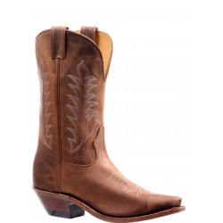 "Boulet 13"" Challenger Ladies Virginia Mesquite Realflex sole Snip toe boot 7773"