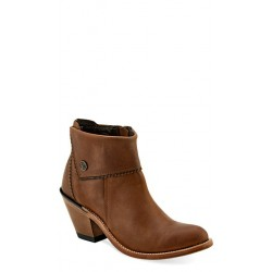 Old West Ladies LIght Tan Fashion Wear Boots - 18160