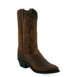 Old West Ladies Brown Western Boots - OW2011L