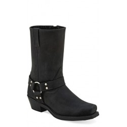 Old West MB2058L Ladies Black Harness (RIDING) Boots