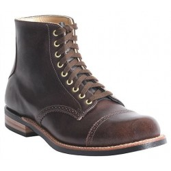 "Men's WM. Moorby footwear 2811 Daly Cafe 6"" quarters"