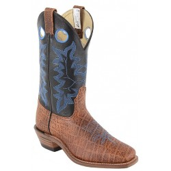 "12"" Mens Safari Cognac/Black Micchatto 6558 Canada West Brahma Buckaroos"