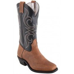 "Men's 13"" Encino Roble/Black Urethane 6982 Canada West Bullriders"