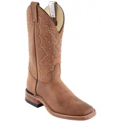 "Encino Roble 12"" Canada West 4109 Ladies BRAHMA Ropers"