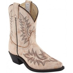 "Desert Bone Tan Ladies 6"" 3075 Ladies Canada West Westerns"