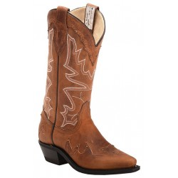 "Tobacco Kodiak 13"" 3084 Ladies Canada West Westerns"