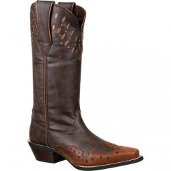 "Crush by Durango 13"" DRD0206 Women's Western Wingtip Boot"