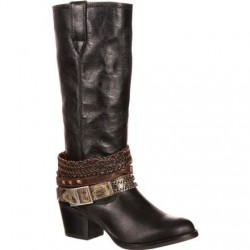 "Durango Women's DRD0072 14"" Philly Accessorized Western Boot"