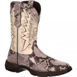 "Lady Rebel RD031 by Durango Women's 10"" Snake Oil Western Boot"