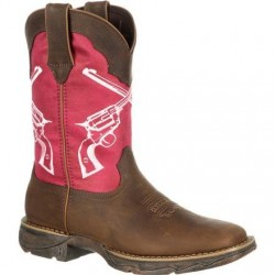 "Lady Rebel DRD0104 by Durango 10"" Crossed Guns Western Boot"
