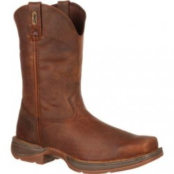 "Rebel by Durango Men's DB5444 11"" Trail Brown Pull-on Western boot with DSS"