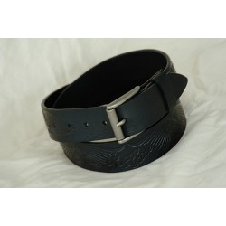 "LEATHER BELT ""BORN TO RIDE"" 2010-30/Black"