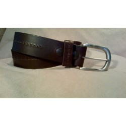 LEATHER BELT 5822-26/Brown