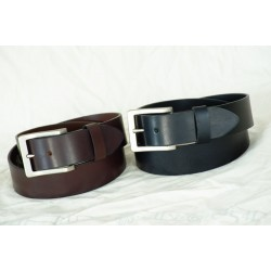 LEATHER BELT-EB-106/Brown, EB-110/Black