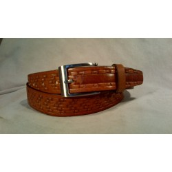 LEATHER BELT 5778-25 TAN