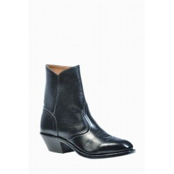 BOULET's Torino Black Calf Western dress toe boot 1114