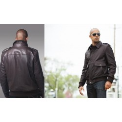 Fashion Leather Jacket WBM2040 black