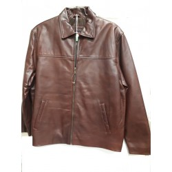 Men Casual jacket Organza brown XL