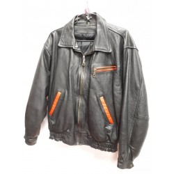 Bomber style Leather jacket -G705