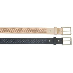 BAJ 1 ½ Men's Top Grain Basket Weave Belt